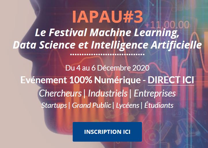 Intelligence artificielle - Festival national online, le 4 décembre