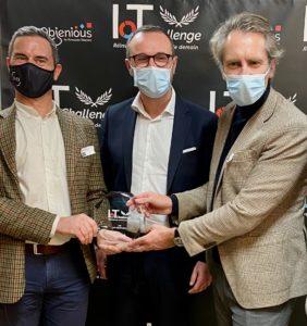 JVD reçoit le Prix Expert de l'IoT Challenge by Objenious