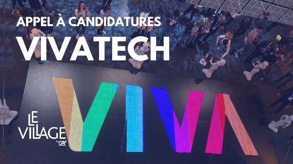 Vivatech 2021 - Appel à candidatures